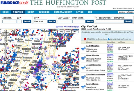 Image of Fundrace Map