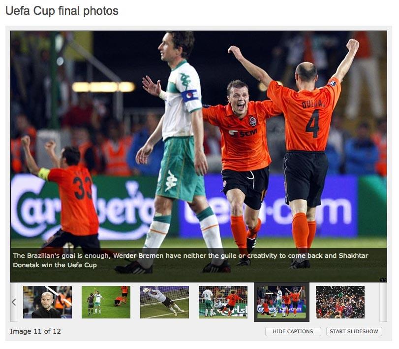 BBC slideshow