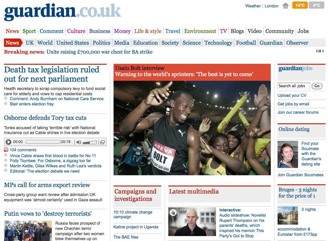 Tags: guardian, Guardian.co.uk