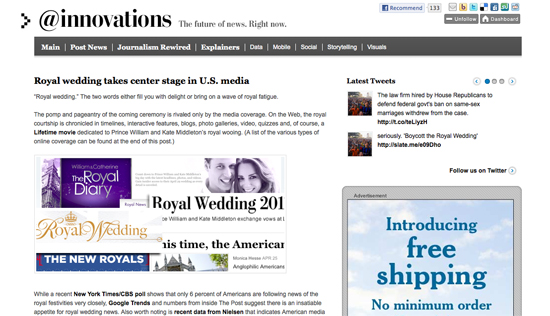 Washington Post Innovations