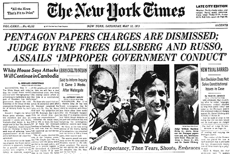 Pentagon Papers Released In Full On 40th Anniversary Of