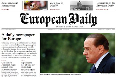 #GEN2012: 'Exciting time' as European daily newspaper ...