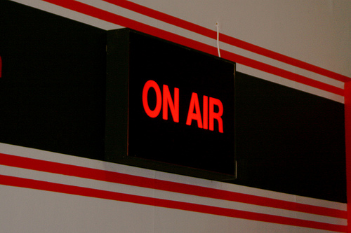 on air sign Flickr katielips